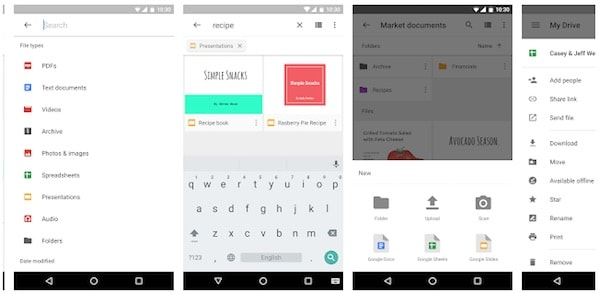 google drive application android indispensable
