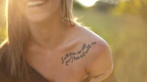 50 des meilleures citations à se faire tatouer